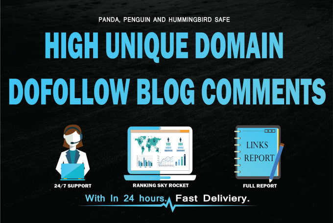 Do 150 Unique Domain High Da Pa Dofollow Blog Comment...