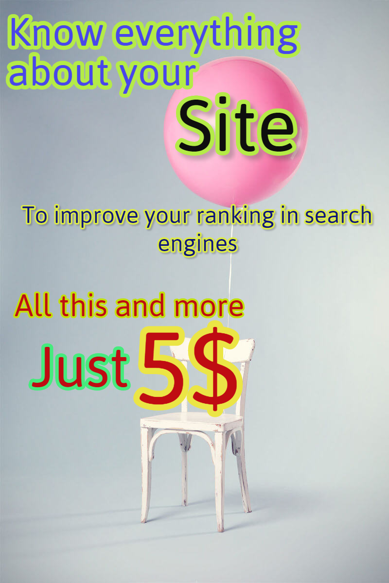 Detailed analysis of your site to generate search engines full report