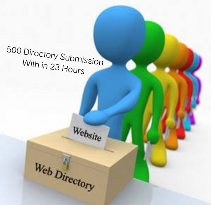 500 Directory Submission With in 23 Hours