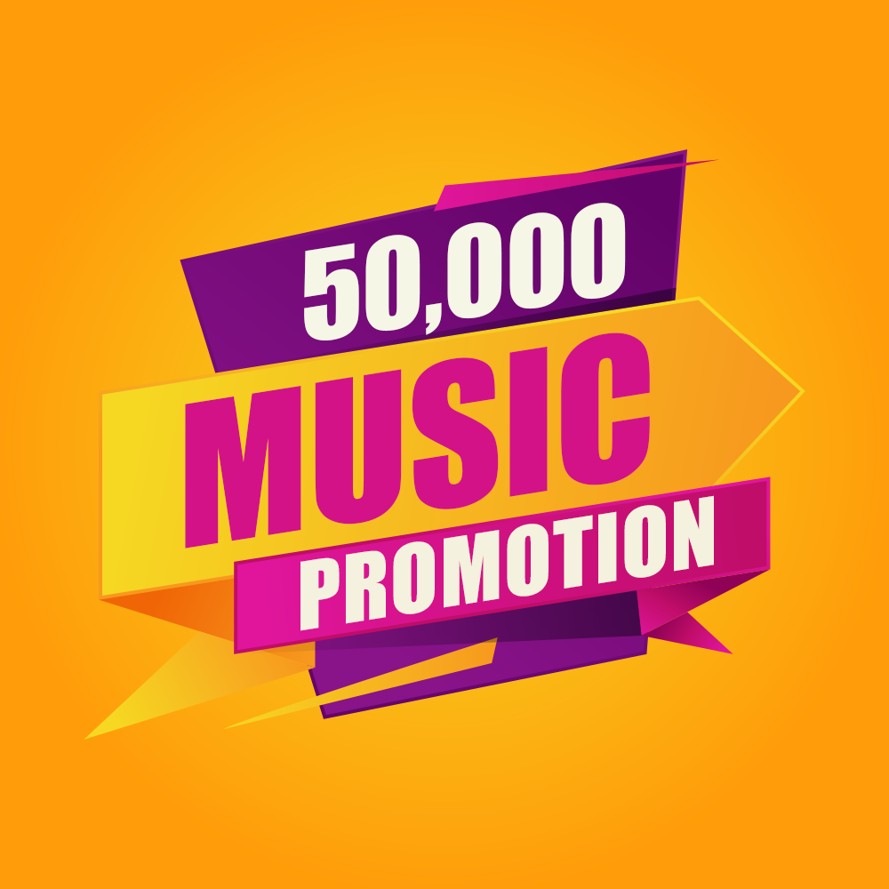 Fifty Thousand Music Promotion Real Advertisement