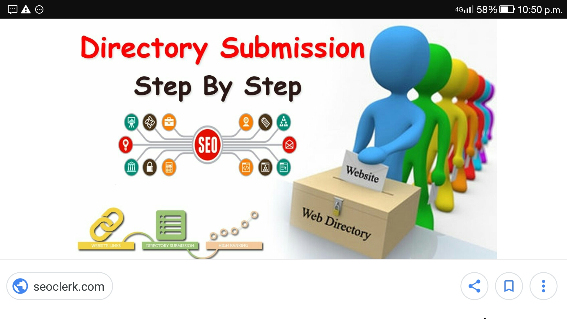 If you want to post your website address in 500 directories I can help you