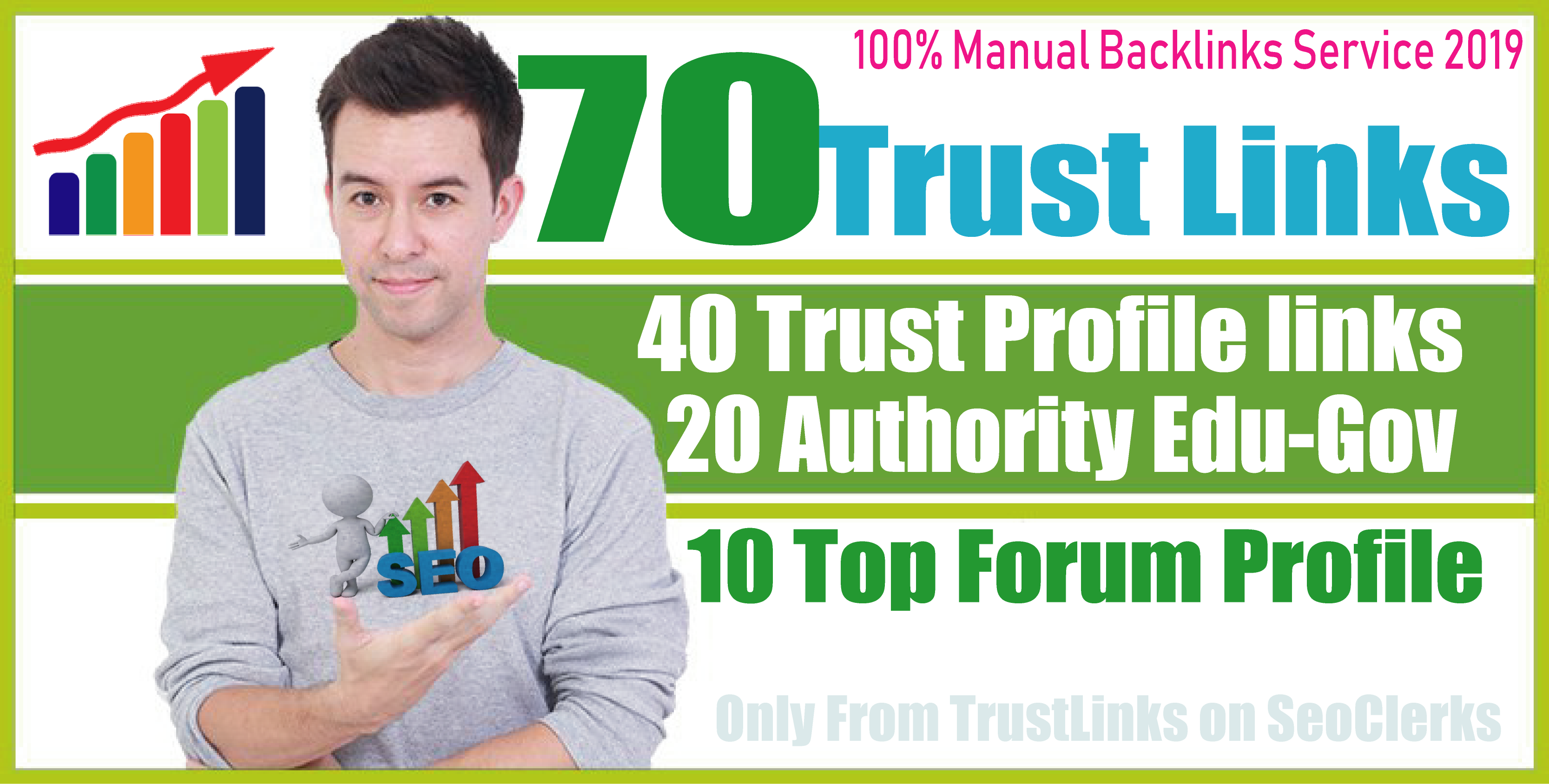70 Trust And Authority Unique Backlinks for Your Webs...