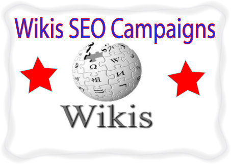 Wikis SEO campaigns-300. edu.-5000 Wiki Article Submission
