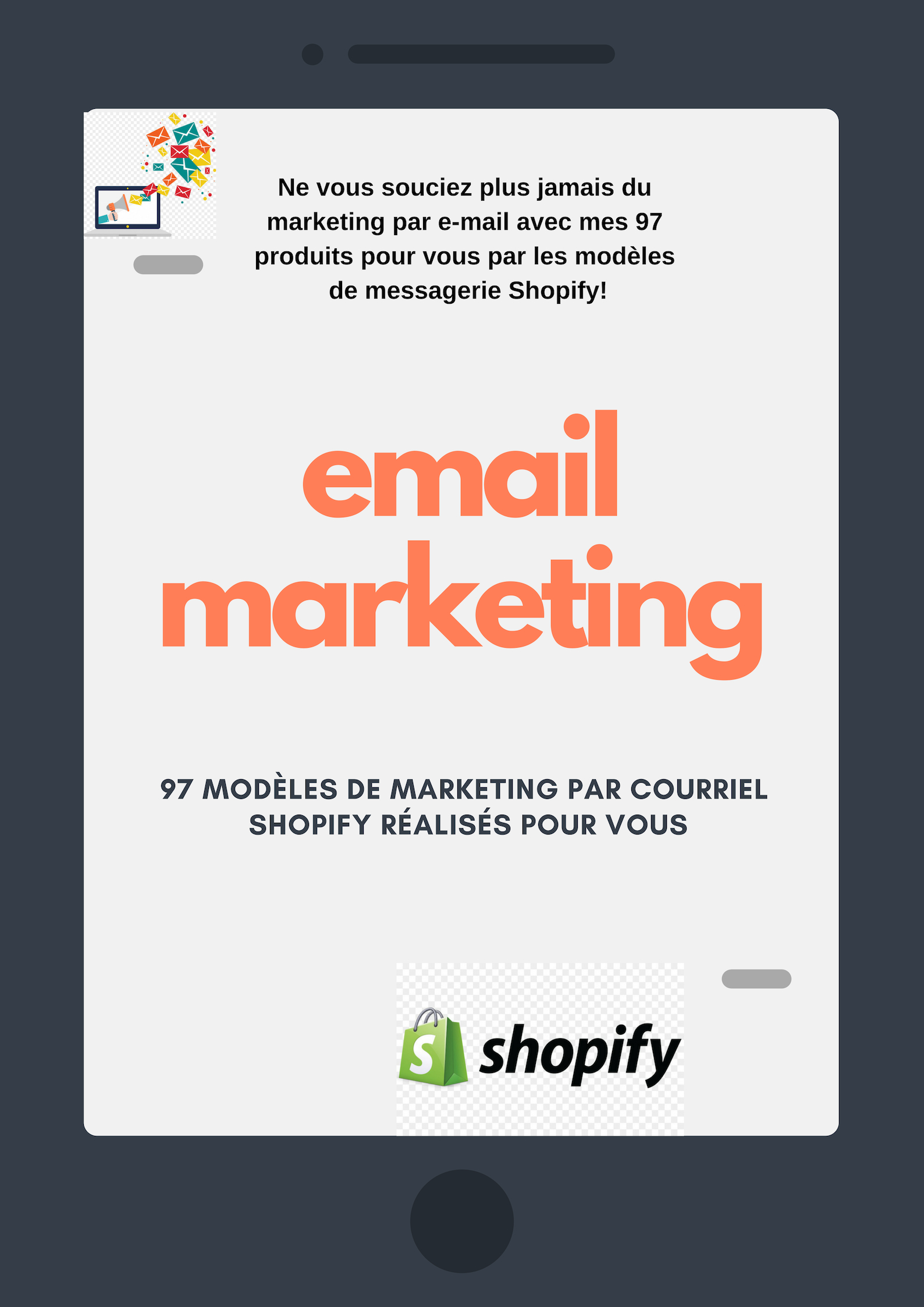 never worry about email marketing again with my 97 done for you shopify email