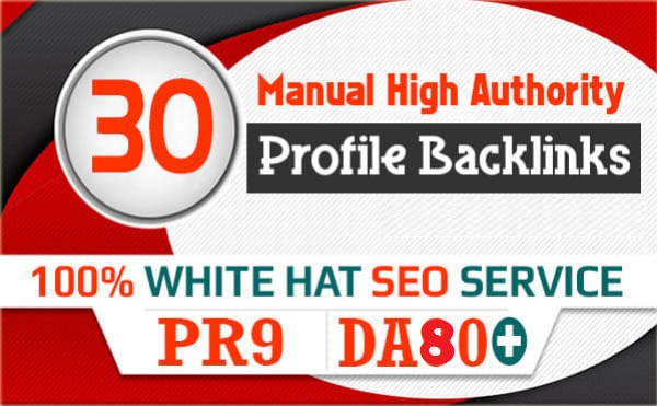 Google Influencing 30 HQ Profile Backlinks to increase SERP SEO Ranking