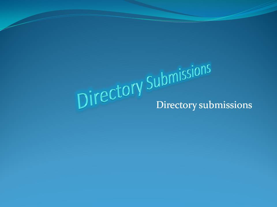 500 directory submission within 1Day