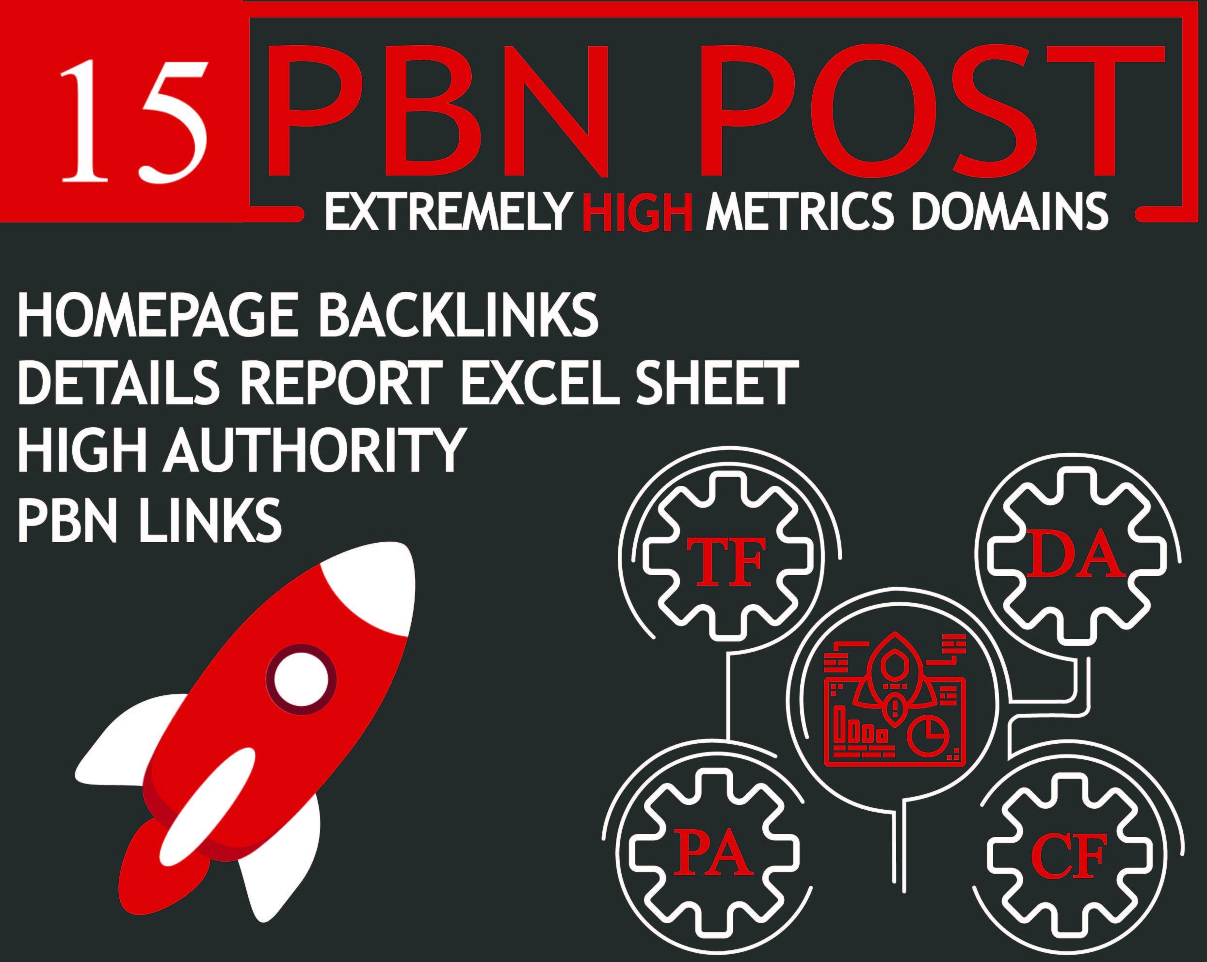 Provide 15 Unique Domain Pbns Blog Post
