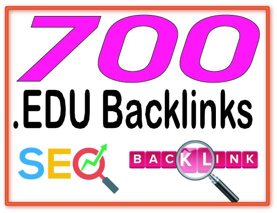 Rank on Google Alexa by exclusive manually 700 + Edu Backlinks