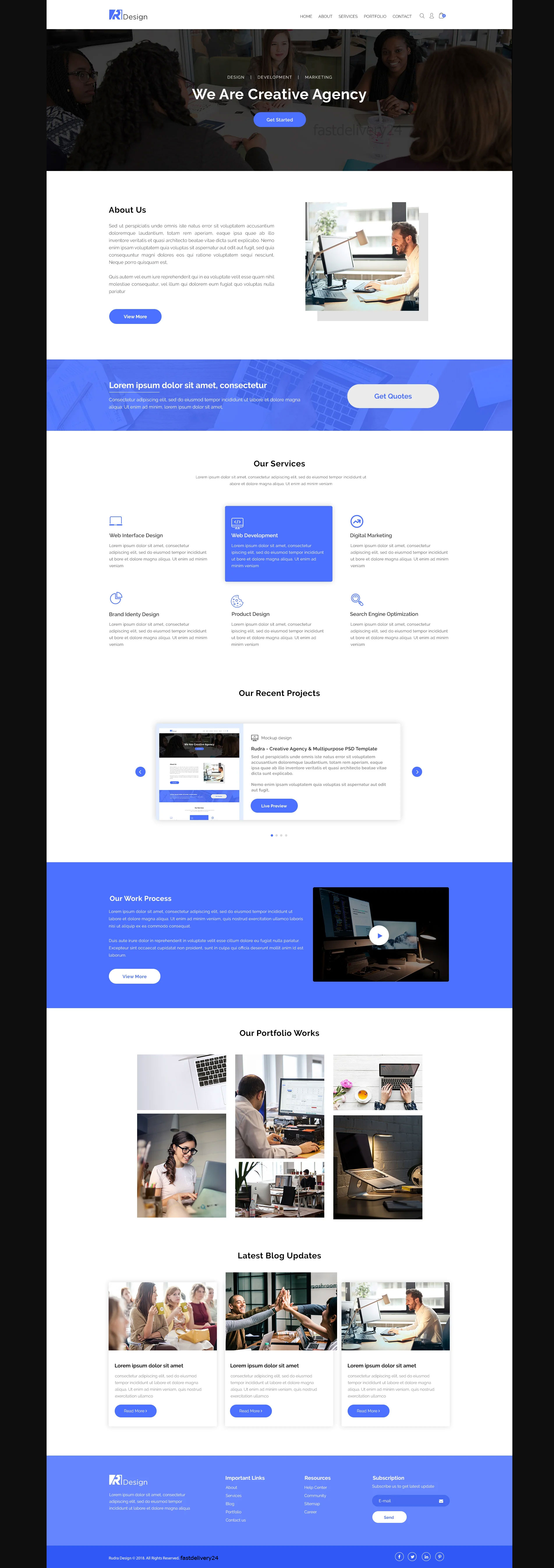 Convert Sketch, Xd, Psd To Html Bootstrap4 Responsi...