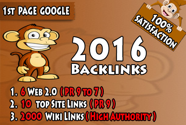 I will shoot your site in Top Google rankings with 2016 Backlinks