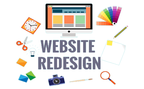 re- design responsive website and wix