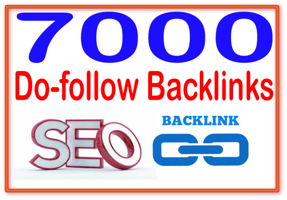 Rank on Google Alexa by exclusive 7000 Do follow Back...