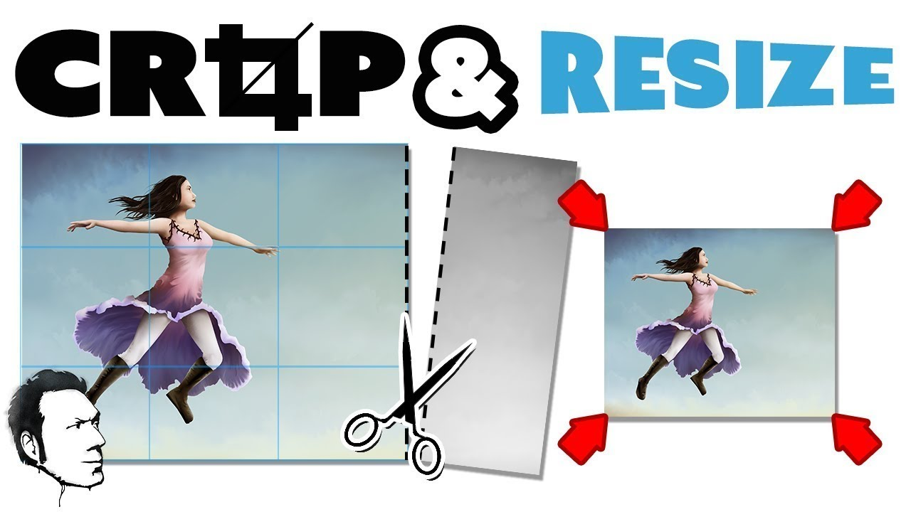 Resize and crop your images