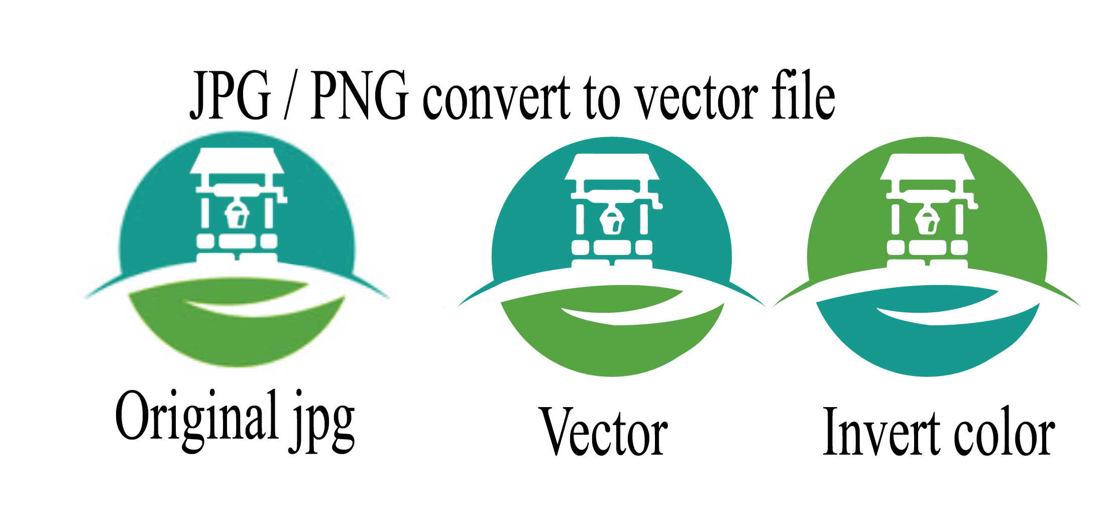 Redraw you existing logo / image as high resolution VECTOR Tracing