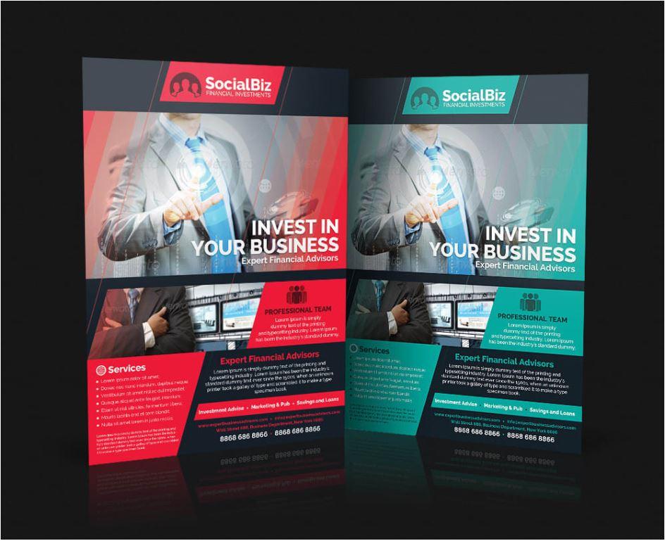 Create Professional Flyer, Poster, Invitation Card, Brochure Design