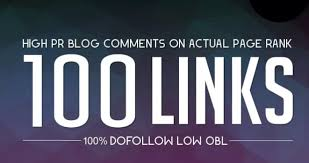 Do 100 blog comments on high DA PA TF CF low obl
