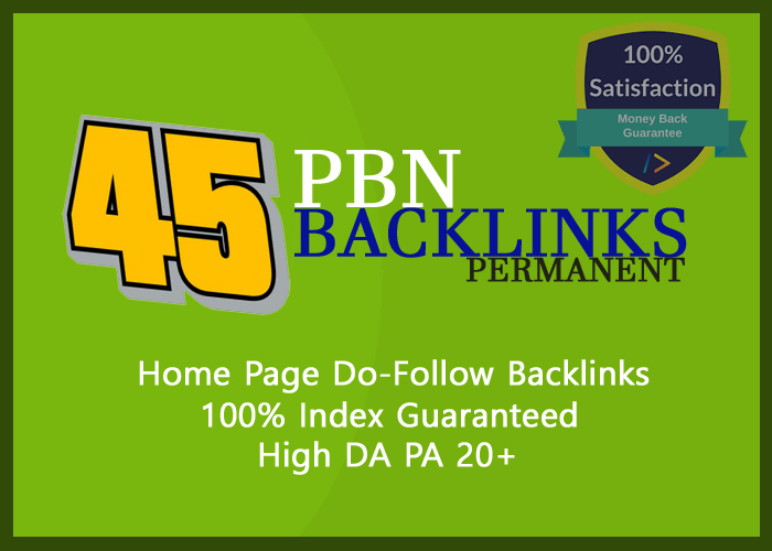 high quality SEO backlinks PBN Services