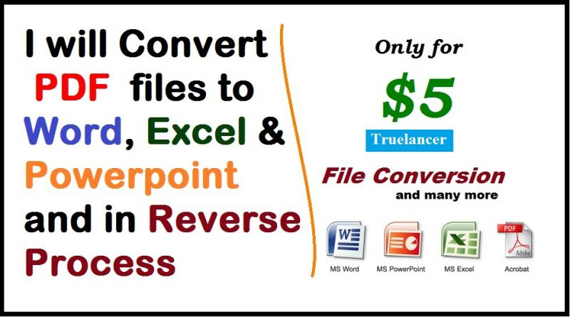 Data Entry and Pdf to word