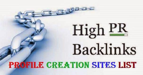 1000+ High DA profile creation site links