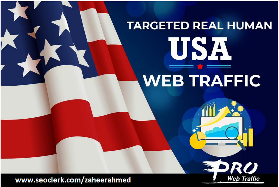 drive targeted USA web traffic to website, store or blogs