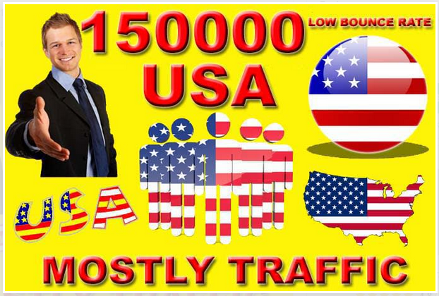DRIVE 150000+ REAL TARGETED USA WEB TRAFFIC TO YOUR WEBSITE