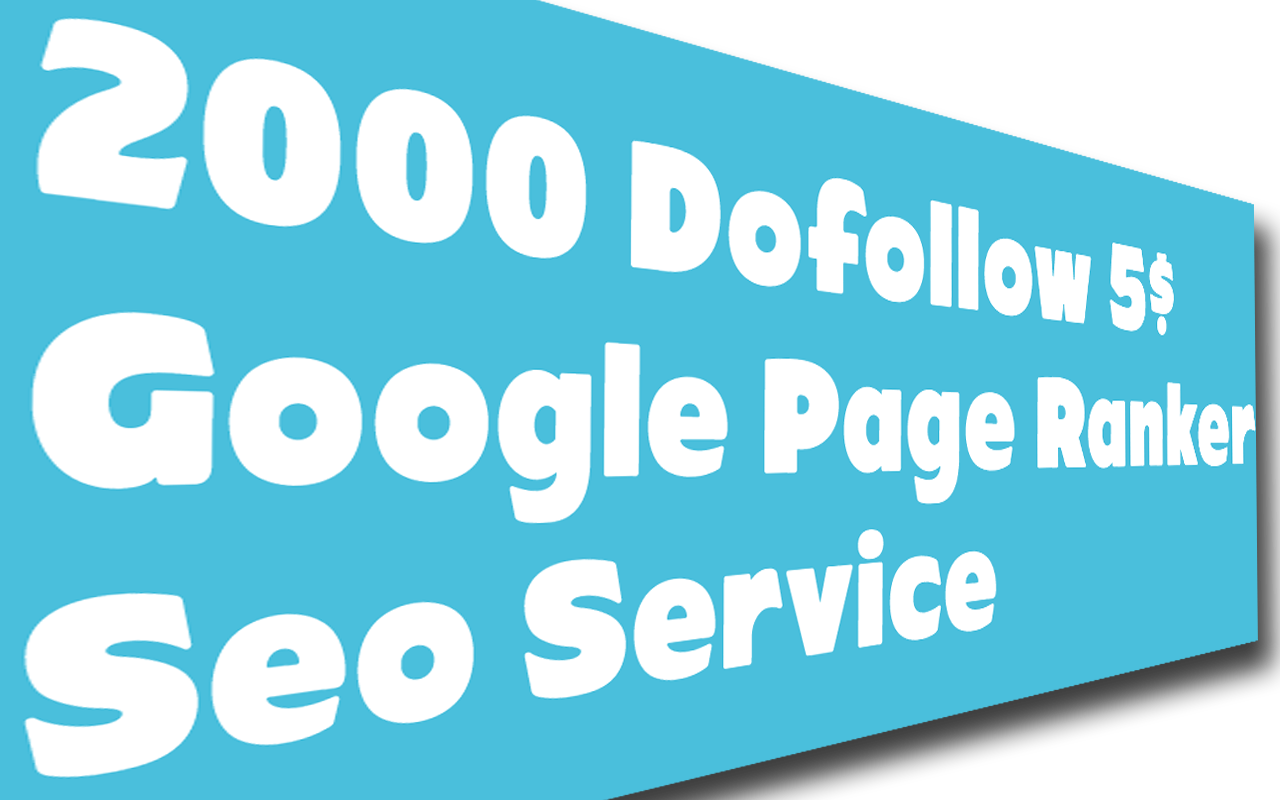 High Authorith Dofollow Backlink Page Ranker Service