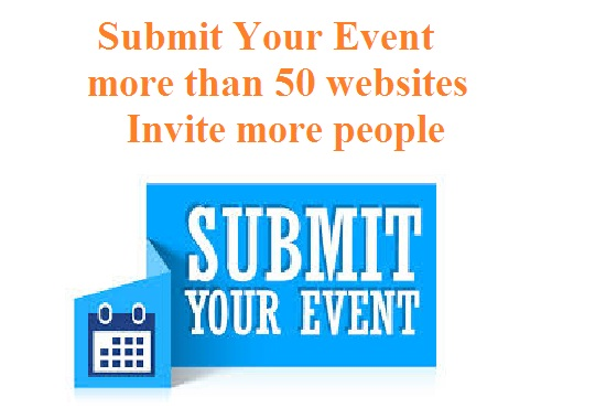 Submit Event to 100 website in specified location