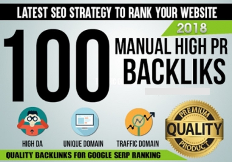 I will 100 Unique domain dofollow backlinks high DA PA only for $4
