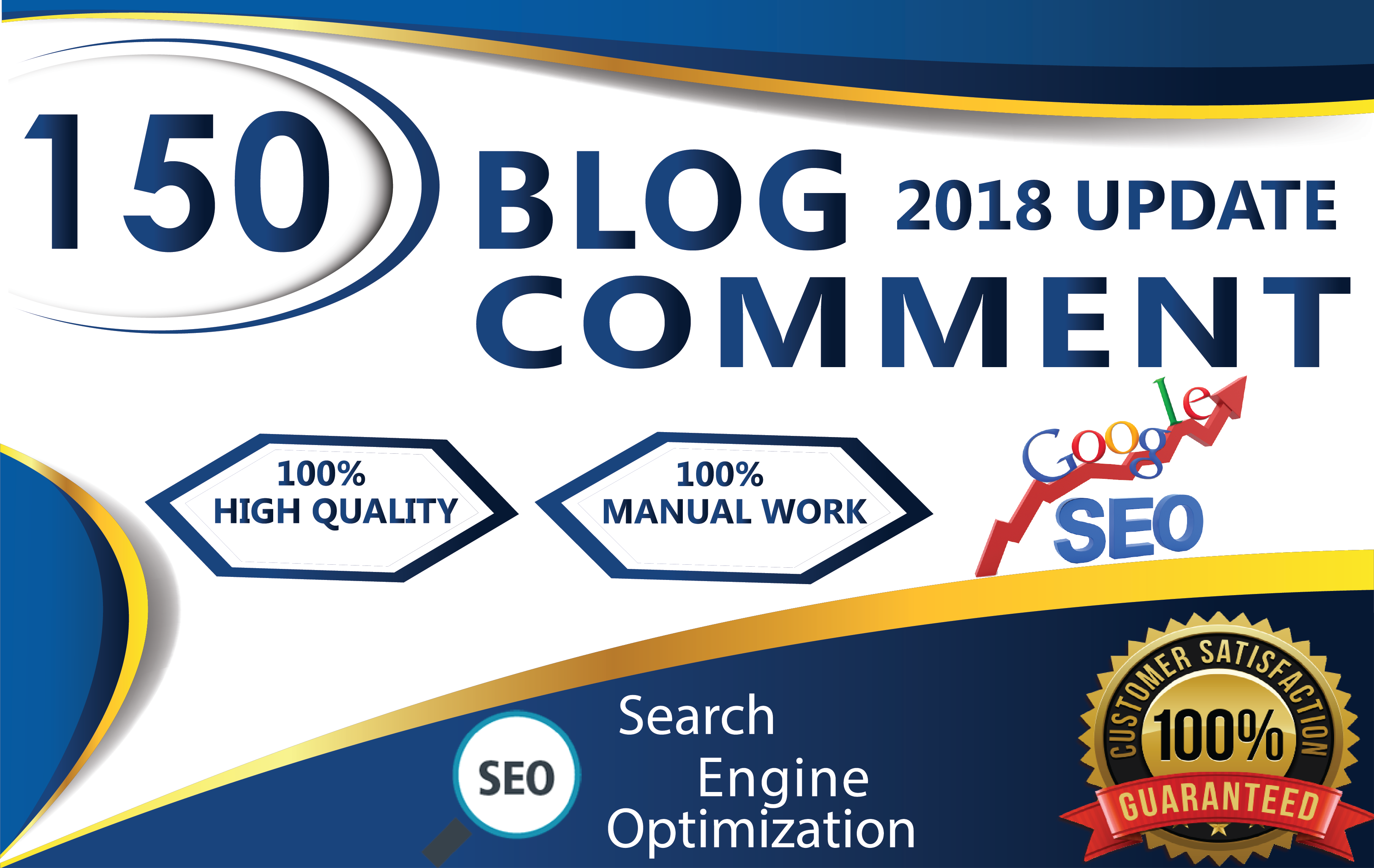 Do 150 unique domain dofollow blog comments backlinks...