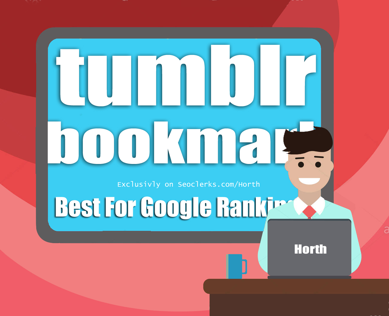Get 40 Tumblr Social bookmark Backlink for website Google Top Page