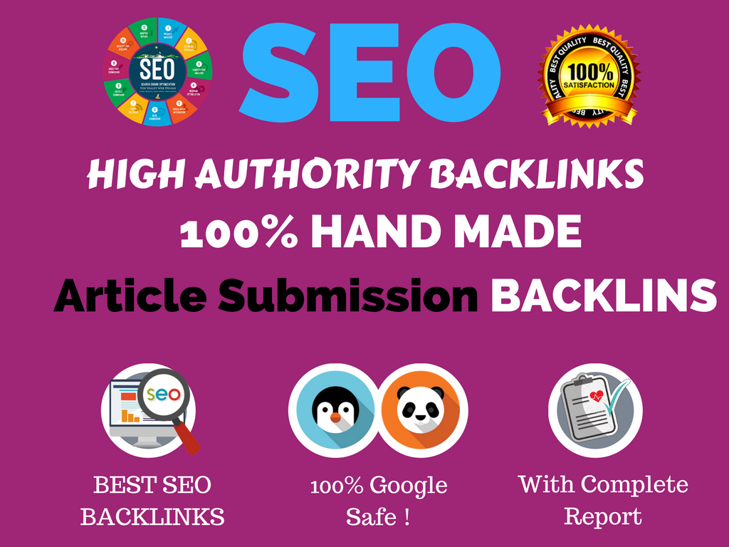 I Do Manual Publish Article On 30 Article Submission On Da50 With Dofollow Links.