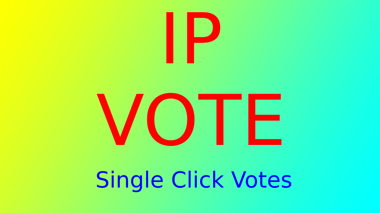 500 Targated USA Different IP Votes, Single IP Votes For Any Contest Polls