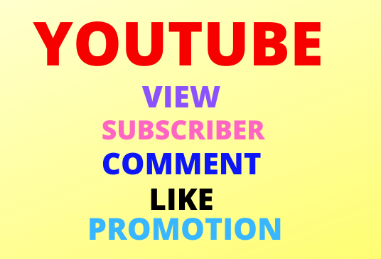 Cheap Offer High Quality All package Youtube marketing and social media promotions super fast
