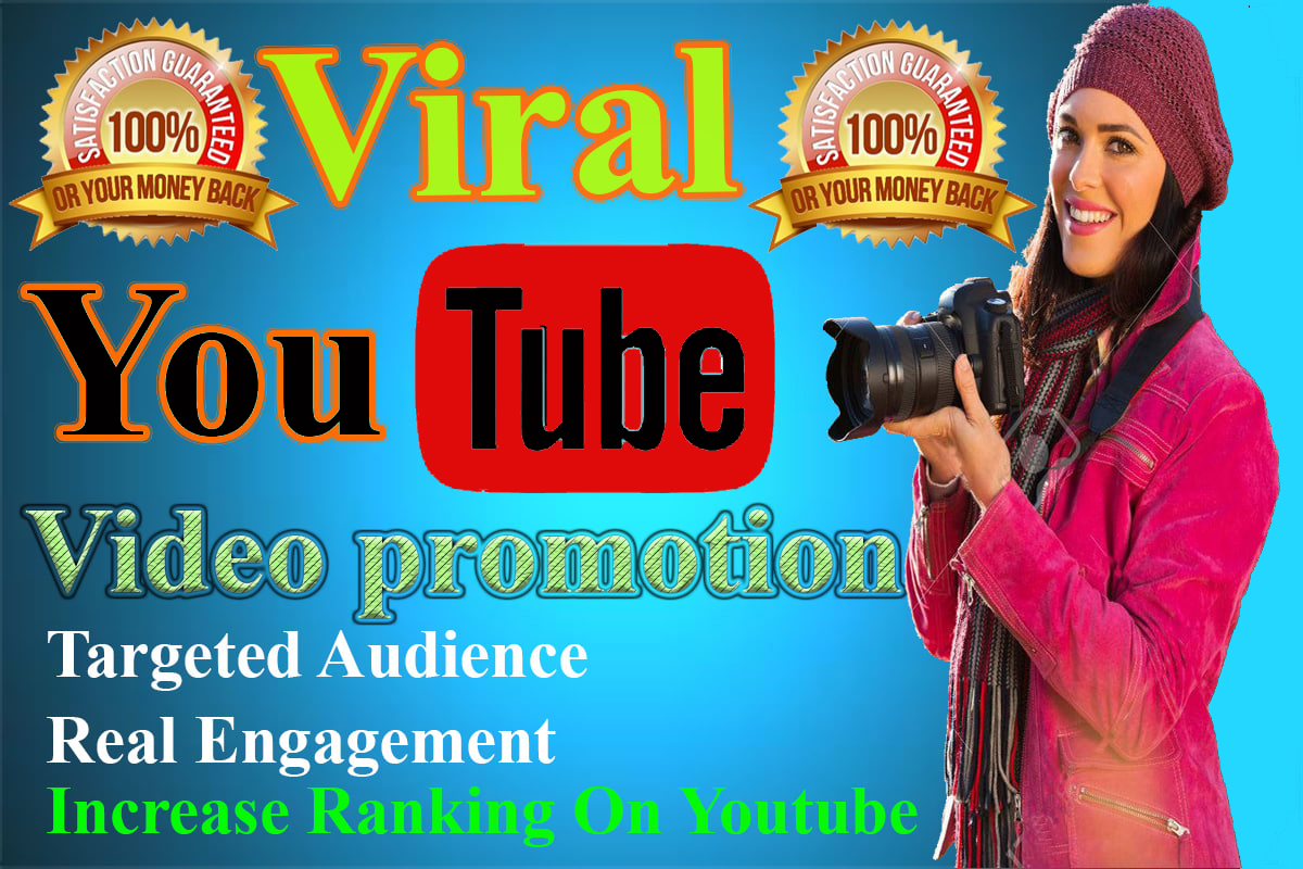 YouTube video promotion marketing Fast promotion