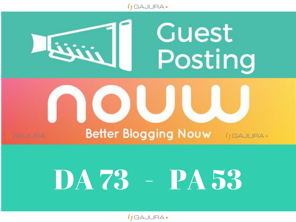 Write and guest post nouw. com DA 60