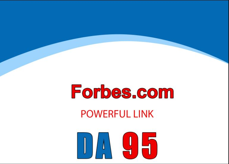 Write and Publish guest post on Forbes. com DA 96