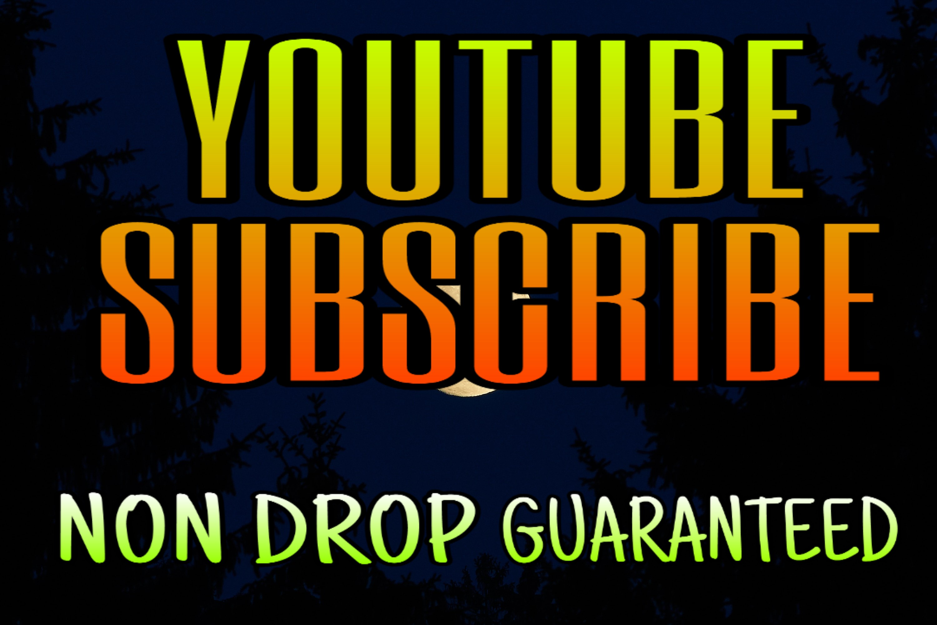 YouTube Promotion And Social Media Marketing Package