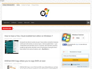 Guest Post on win7articles. com PR 3 DA 31 Website Today Sponsored Blog Review