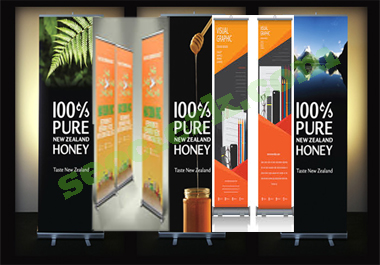 Outstanding Roll Up Banner Design In 24 Hours