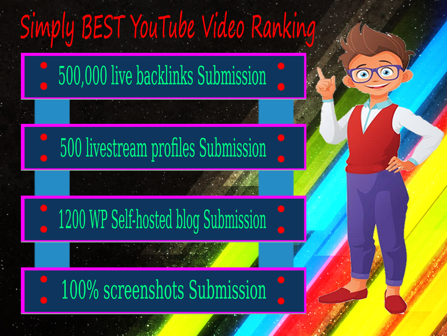 Simply BEST Pro YouTube Video Ranking & Promotional Service