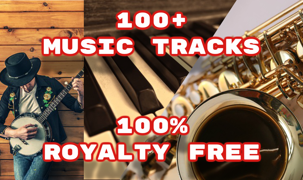 Provide 100+ Royalty Free Songs