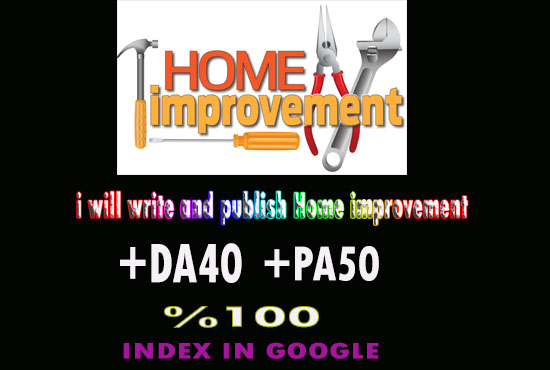 write and post DA40 site Home Improvement