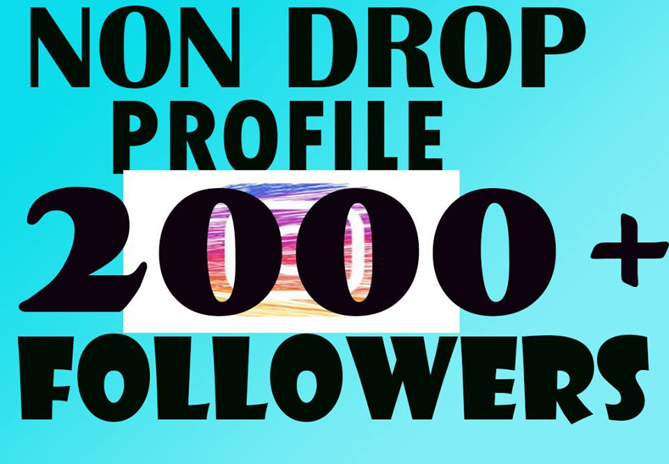 Get 2000+Profile Followers In 2-3 H[Permanent]