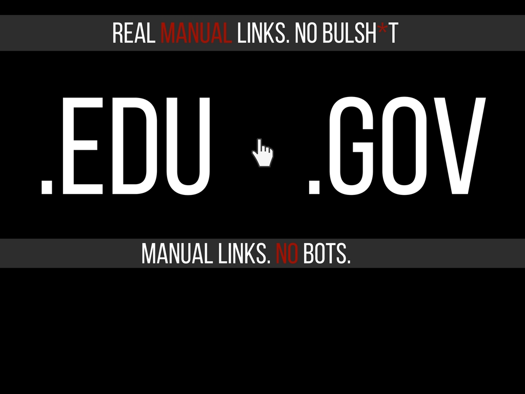 Limited Time - 20 EDU/GOV Profile backlinks All Unique domains