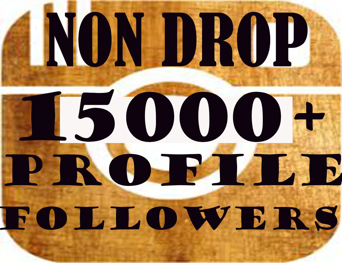15000+Stable Profile Followers within 12 hours