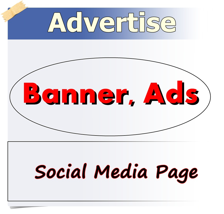 promote and advertise Banner, Ads and Social Media Page Group Member
