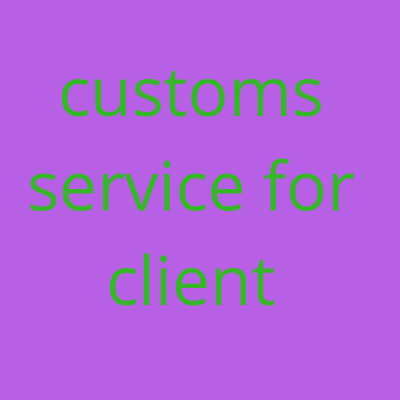 Get any customs for mini client with