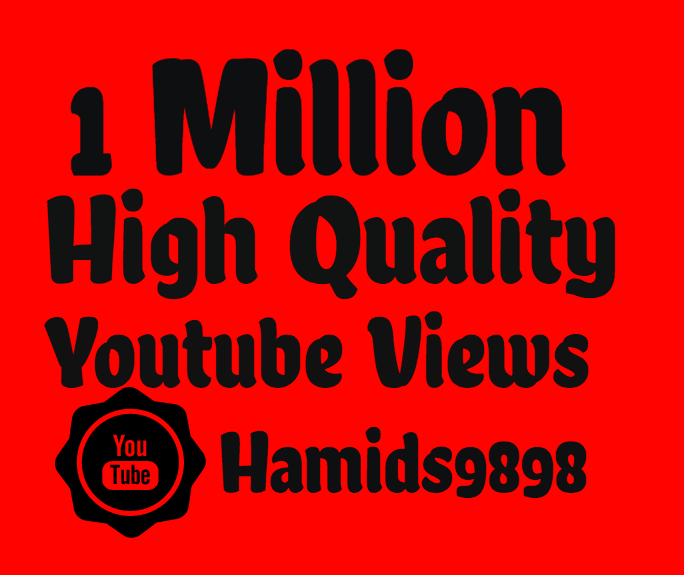 Add Super Fast 50,000+ High Quality Youtube view's and 50+ Youtube Like's