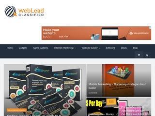 WebLeadClassified Sponsored Blog Review