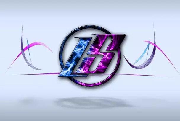 Do perfect 4K animated logo intro video